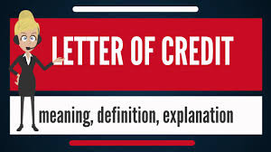 What Is Letter Of Credit What Does Letter Of Credit Mean Letter