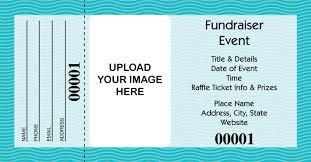 Buy Large Custom Raffle Tickets Full Color Raffle Tickets
