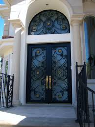 delighful iron cast iron entry doors gallery design modern on wrought front