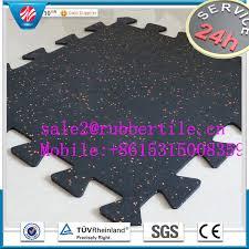 rubber gym flooring outdoor playground interlocking rubber floor tiles