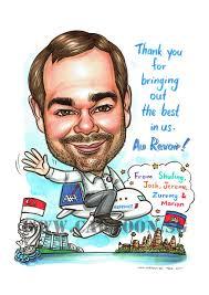 2017 07 03 caricature singapore farewell gift cambodia