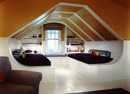 Bedroom:Chic Sloped Ceiling Bedroom Decorating Ideas For Inspiration  Amusing Guys Attic Double White Of