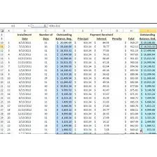 Excel Loan Amortization Schedule Image 5 Debt Car – Pitikih