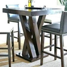 high pub table astonishing costway bar bistro round top black 42 inch decorating ideas 18