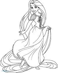 Coloriage Raiponce Deco Beautiful Coloriage Princesse Gratuit