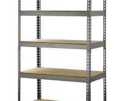unit 12 inch chrome wire shelving homebase perfect metal garage shelves venidami