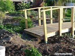 garden bridge design wooden pond japanese ideas foot diy building plans small