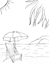 Heavenly View Of The Beach 20 Beach Coloring Pages Free Printables