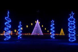 Christmas Light Illuminate Light Show Santas Village Meadow Event Park In