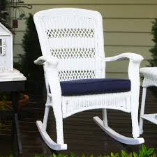 tortuga outdoor portside wicker plantation rocking chair