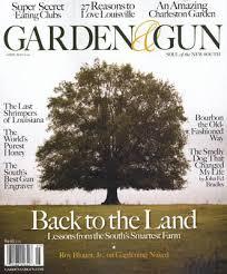 garden and gun. garden and gun