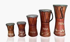 Burdan atau gendang oku merupakan alat musik tradisional sejenis rebana yang dimainkan dengan cara dipukul, terbuat dari kayu dan kulit binatang. Gendang Tifa Alat Musik Unik Khas Bumi Papua Berita Papua