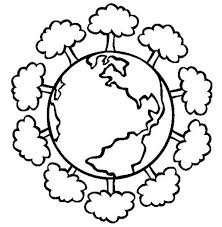 Small Picture Having a Healthy Forest on Earth Day Coloring Page Color Luna