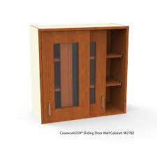 sliding glass door wall cabinets