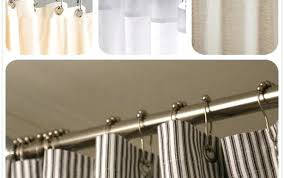 moen shower curtain hooks white brushed ring double and