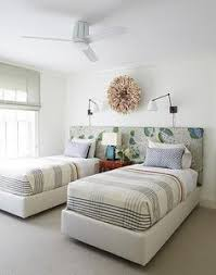 I simply love the look of two twin beds in a spare bedroom Cool