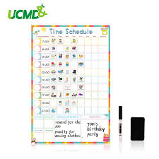How To Do A Reward Chart Magnetic Erasable Kid Weekly Schedule Calendar Daily Planner Drawing Time Schedule Writing To Do List Reward Chart Wall Stickers Stickers For Home