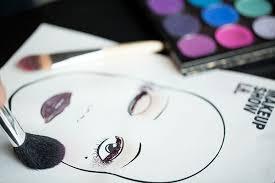 James Face Chart Face Charts Part 1 Create A Winning Look Beautylish