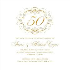Anniversary Template 22 Wedding Anniversary Invitation Card Templates Word Psd Ai