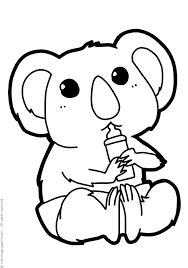 Koala 2 Disegni Da Colorare 24