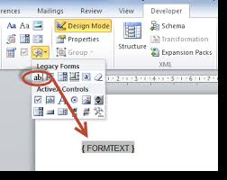 Microsoft Word Update All Fields Adding Form Fields To A Ms Word Document Smartwiki
