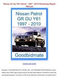 Nissan Gr Gu Y61 Patrol 1997 2010 Workshop Re by JordanHerr - issuu