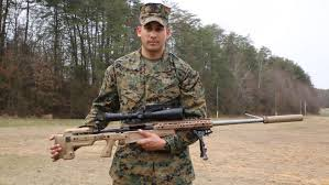 Marine Corps Scout Sniper Marine Corps Snipers Receive New Mk13 Sniper Rifle With Increased