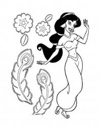 Now, if you want to get your hands on princess jasmine coloring pages, you can find many of them at the end of this post. Aladdin And Jasmine Free Printable Coloring Pages For Kids