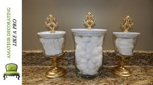 diy bathroom canisters using dollar tree general vases creative inspiration canister set