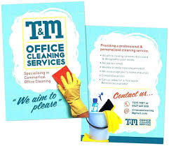 Commercial Flyers Cleaning Brochure Templates Free Commercial Cool Service Flyers