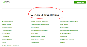 best lancing sites for writers to grow income upwork writers and translators