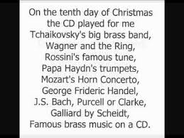Canadian Brass - Twelve Days of Christmas - UNIQUE lyrics - YouTube