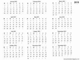 Calendars 2015 Printable Free 2015 Printable Calendar