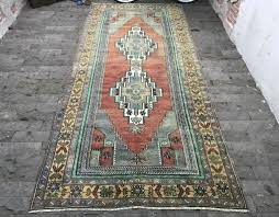 over dyed rug large vintage area brick color vegetable persian rugs