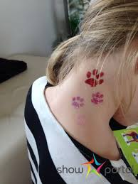 Kosmetický Salon Pro Děti Třpytivé Tetování úprava Vlasů