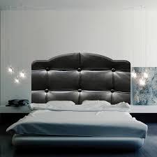 surprising idea headboard wall decals black cushion mural decal murals queen for bedroom vinyl