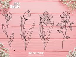 A step by step paper flower tutorial. 163 Flowers Svg Designs Graphics