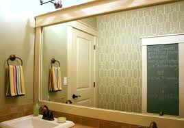 wood framed bathroom mirrors. Enchanting Framed Mirrors For Bathroom Wall Cherry Wood . R