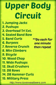 upper body circuit 30 minutes to lean toned arms fit fitness workout exercise