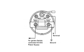 wiring diagrams electric tachometer hall effect sender