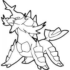 Disegno Di Pokemon Samurott Da Colorare Per Bambini