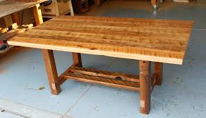 base reclaimed wood tables