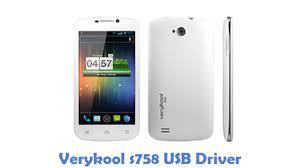 Download Verykool s758 USB Driver