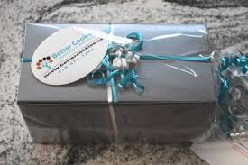 it s easy to send a small silver gift box of cookies in canada