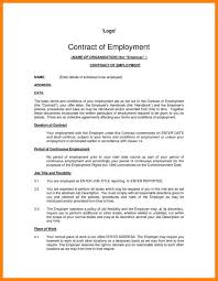 Free Employment Contract Templates Employment Agreement Template Uk 10 Basic Employment Contract