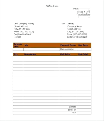 Job Quote Template Excel Job Quote Template Barrest Info