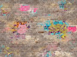 brick wall graffiti generator page 1
