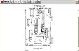 2001 chrysler town and country fuse panel electrical problem 2001 check here see below