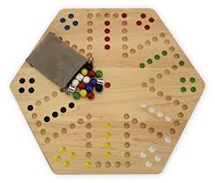 Wooden Aggravation Board Game Amazon MapleWood Handpainted Doublesided Aggravation Game 62