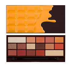 makeup revolution paleta cieni orange chocolate